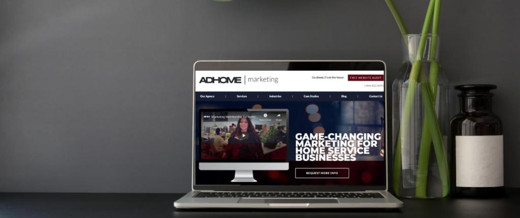 ADHOME homepage